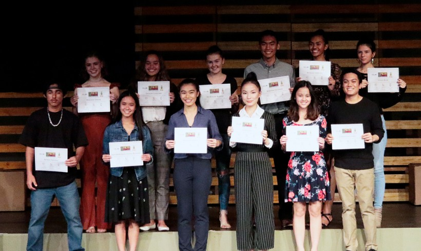 2019 Hawaii Poetry Out Loud at Tenney Theatre